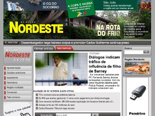 Thumbnail do site Revista NORDESTE