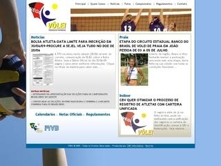Thumbnail do site FPBV - Federação Paraibana de Vôlei