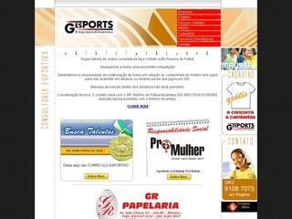 Thumbnail do site G ESPORTS - Consultoria Esportiva