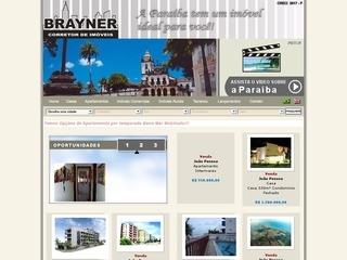 Thumbnail do site Brayner Imóveis