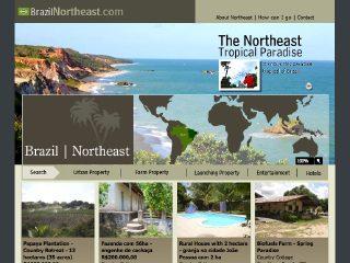 Thumbnail do site Brazil Northeast (Praia Bessa - João Pessoa)