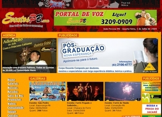 Thumbnail do site EventosPB.com
