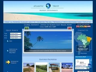 Thumbnail do site Atlantic Trust Property Developments