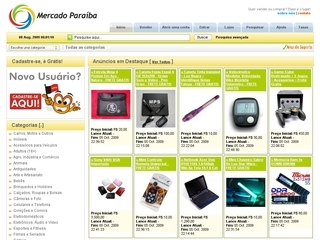 Thumbnail do site Mercado Paraiba
