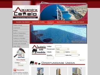 Thumbnail do site Alexandre Camelo - Imóveis em João Pessoa