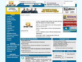 Thumbnail do site Enter-Net Informática