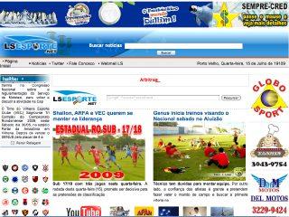 Thumbnail do site LS Esporte.com.br