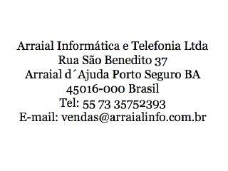 Thumbnail do site Arraial Informática e Telefonia Ltda.