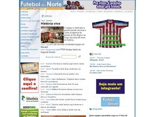 Thumbnail do site Futeboldonorte.com