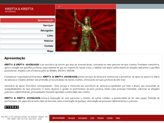Thumbnail do site Krefta & Krefta Advogados