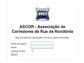 Thumbnail do site Associação de Corredores de Rua de Rondônia