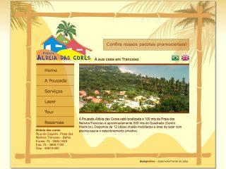 Thumbnail do site Pousada Aldeia das Cores