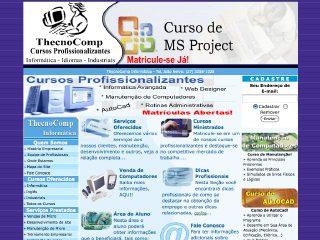 Thumbnail do site ThecnoComp Informática