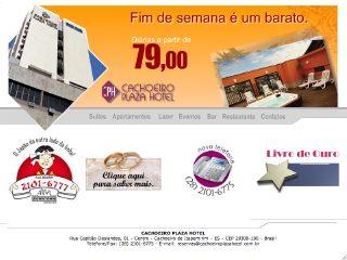 Thumbnail do site Cachoeiro Plaza Hotel