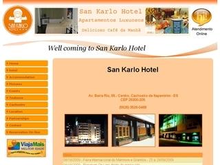 Thumbnail do site San Karlo Hotel