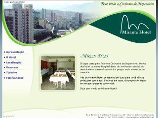 Thumbnail do site Mirante Hotel