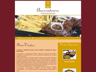 Thumbnail do site Ancoradouro - Restaurante e Pizzaria