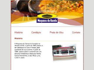 Thumbnail do site Restaurante Moqueca do Garcia