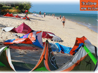 Thumbnail do site Tribo do Kite - Escola de Kitesurf