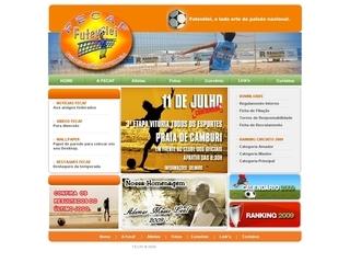 Thumbnail do site FECAF - Federação Capixaba de Futevôlei
