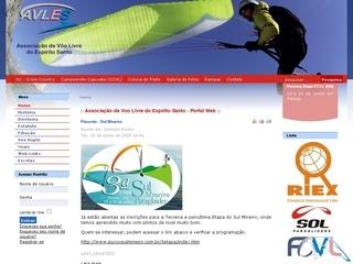 Thumbnail do site AVLES - Associação de Vôo Livre  do Espírito Santo