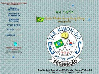 Thumbnail do site FESTKD - Federação Espírito Santense de Tae Kwon-Do
