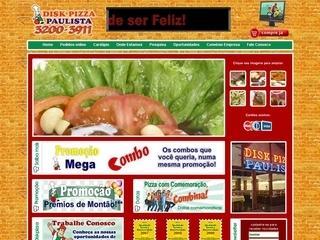 Thumbnail do site Disk Pizza Paulista