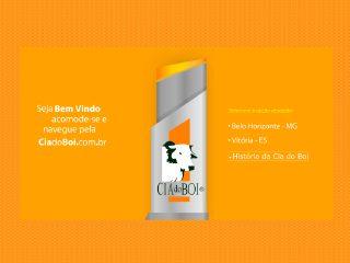 Thumbnail do site Cia do Boi