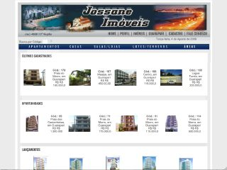 Thumbnail do site Jossane Corretor de Imóveis