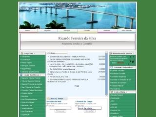 Thumbnail do site Ricardo Ferreira da Silva Advogado