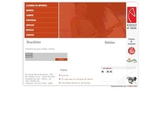Thumbnail do site Academia de Eventos