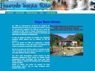 Thumbnail do site Fazenda Santa Rita