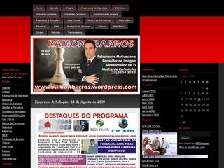 Thumbnail do site Ramon Barros - Consultor de Imagem