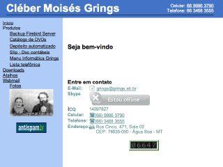 Thumbnail do site Informática Grings
