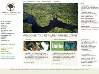 Thumbnail do site Cristalino Jungle Lodge