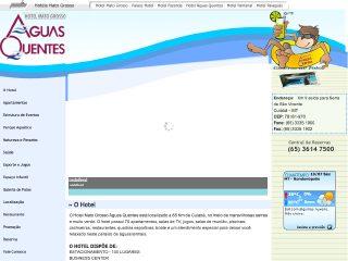 Thumbnail do site Hotel Mato Grosso Águas Quentes