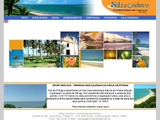 Thumbnail do site Nilza Córdova - Corretora de Imóveis