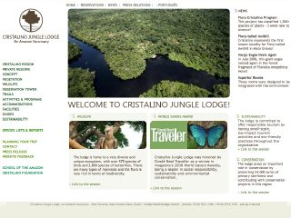 Thumbnail do site Floresta Amazônica Hotel