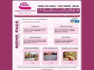 Thumbnail do site Esplanada Palace Hotel
