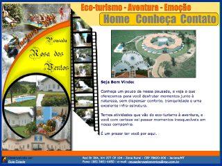 Thumbnail do site Pousada Rosa dos Ventos