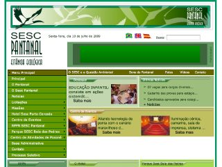 Thumbnail do site Hotel SESC Pantanal
