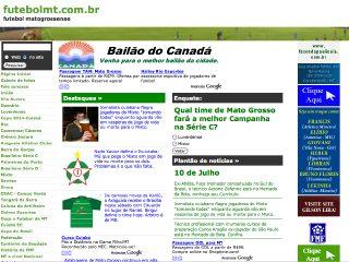 Thumbnail do site Futebol Matogrossense
