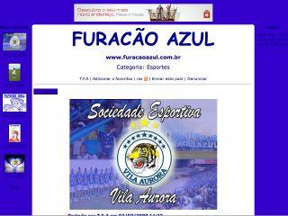 Thumbnail do site Fotolog da Torcida Furacão Azul