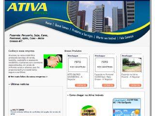 Thumbnail do site Ativa Imóveis