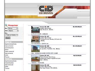 Thumbnail do site CID Administradora de Imóveis