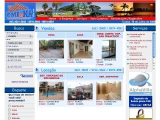 Thumbnail do site Emika Empreendimentos Imobiliários