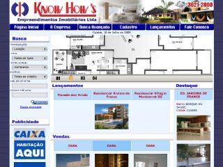 Thumbnail do site Imobiliária Know How