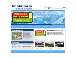 Thumbnail do site Imobiliária Monte Alegre