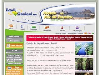 Thumbnail do site Turismo em Mato Grosso - Brasil Contact
