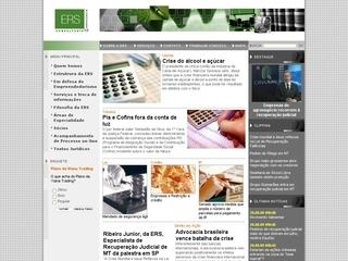 Thumbnail do site ERS Consultoria & Advocacia